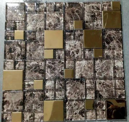 Designer Exterior Wall Glass Mosaic Tiles