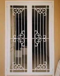 Mild Steel Safety Door, For Residential, Size: Hxw 6 X 3 Feet