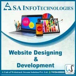 Dynamic Website Designing Development Service, With Online Support