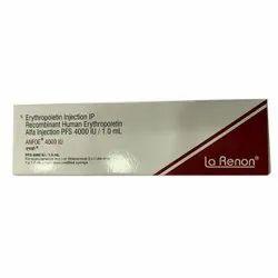 Erythropoietin 4000 IU Injection IP