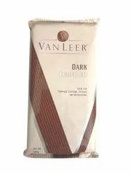 Rectangular Vanleer Dark Compound Chocolate Slab