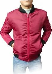 Regular Fit Wind Cheaters Mens Full Sleeve Jackets