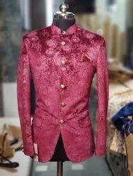 Wedding Maroon mens 2 piece suit