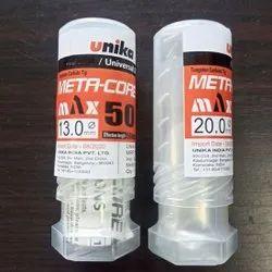 Unika Meta Core Drill Bits, Drill Depth: 101 Mm, Drill Diameter: 13 And 20 Mm