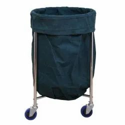 MS Soiled Linen Trolley With Canvas Bag