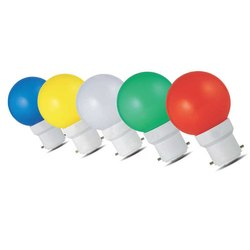 Ceramic Round 0.5w Colour Led Bulb (COLOUR LED BULB), For Decoration, 6500K
