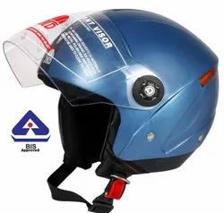 Grand Open Face Helmet (Cyan Blue)