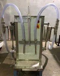 Semi Automatic Pesticides Filling Machine