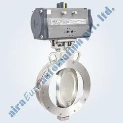 Pneumatic Double Eccentric High Performance Butterfly Valve