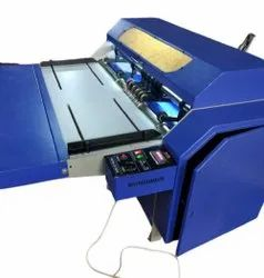 Fine cut Paper Carry Bag Creasing Machine, Capacity: 10-20 ton/day, Automation Grade: Semi-Automatic