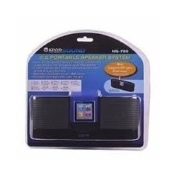 Kinyo Plastic 2.0 Channel Portable USB Speaker System