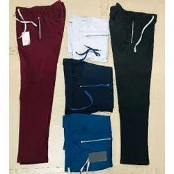 KTC Men Plain 4 Way Lycra Trouser