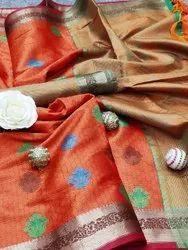 Present Tasui Silk With Rich Pallu Saree