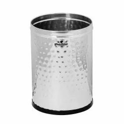 Fortune Blu Stainless Steel Hammer Dustbin (11 Ltr )