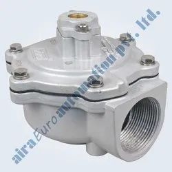 2/2 Way Angle Type Pilot Operated Pulse Valve
