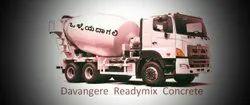 2500 Ready Mix Concrete Suppliers in Davangere, Grade Standard: Is Standard