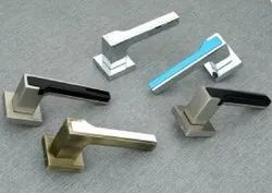 Colorful Combination Top Centerfill Zamak Lever Handle For Any Door-74