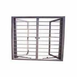 External Polished Aluminium Window Grill, Rectangle