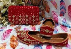 Women Pure Leather Punjabi Jutti