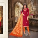 Kayce Kasmeera Queen Vol 4 Unstitched Salwar Suit -12 Pcs Set