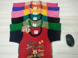 Lycra Cotton Casual Wear Kids T Shirt, Size: 3-5 Years