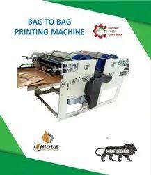 UNIQUE Mild Steel Single Color Flexo Printing Machine, Number Of Colors: 1, Model Name/Number: Ufc - B2b 1c