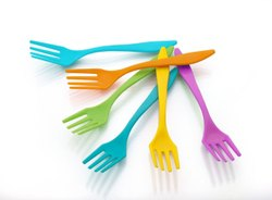 Plastic Baby Fork Spoon, For Home