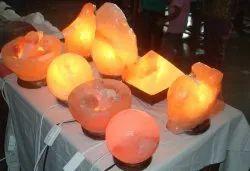 Christmas Salt Lamps
