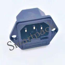 Smartpack Plastic Socket, For Electric Fittings, Number Of Sockets: 4 Sockets