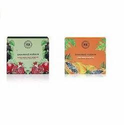 Shahnaz Husain 5 Step (Papaya + Mix Fruit) Facial Kit (Pack Of 2)  (2 x 50)
