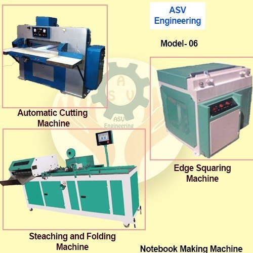 Notebook Making Machine
