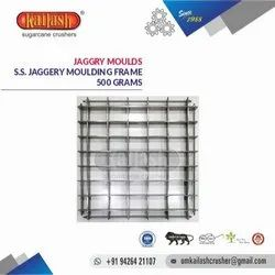 OM KAILASH STAINLESS STEEL JAGGERY MOULDS 500 GRAMS