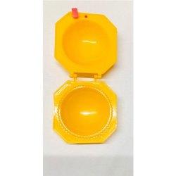 Yellow Round Kachori Plastic Mold, For Moulding