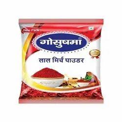 Gosushma Red Chilli Powder, 500 g, Pouch