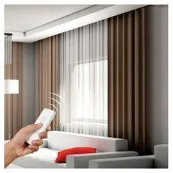 Plain Designer Silk Curtain