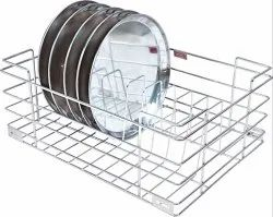 Stainless Steel Thali Stand