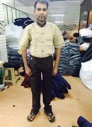 Hotel Waiter Cotton Uniform, Size: Medium