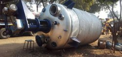 Mild Steel Reaction Vessel, For Industry, Capacity: 25 KL