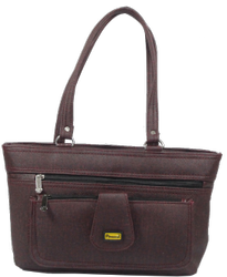Paveena Form Ladies Handbag, For Casual Wear