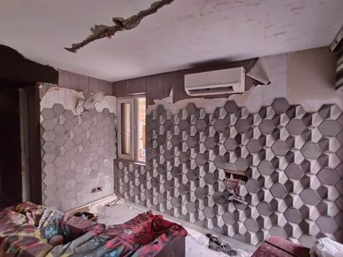 Concrete 3D Wall Tiles