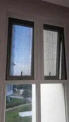 Upvc Hinged Mosquito Mesh Window