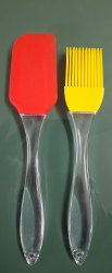 Silicone Oil Brush And Spatula Set