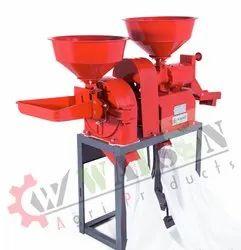 1RK70 Mini Rice Mill Machine With Hammer Mill