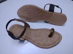 Flat Ladies Sandals, Size: 37-42
