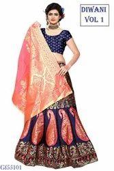 Banarasi Silk Lehenga Choli