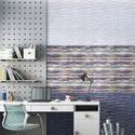 Ceramic Glossy Digital Living Room Wall Tile, Size: 30*45, Thickness: 5-10 Mm