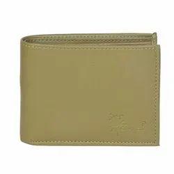 Hawai Formal Design Beige Artificial Leather Wallet For Men (8 Card Slots)