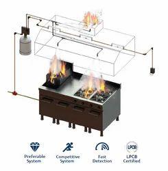 Fire Extinguishing Device Kitchen Equipment