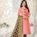 Designer Cotton Silk Dress Material