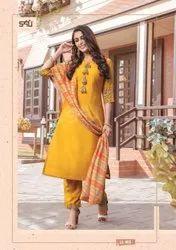 S4u By Shivali Limelight Vol 4 Silk  Readymade Suits